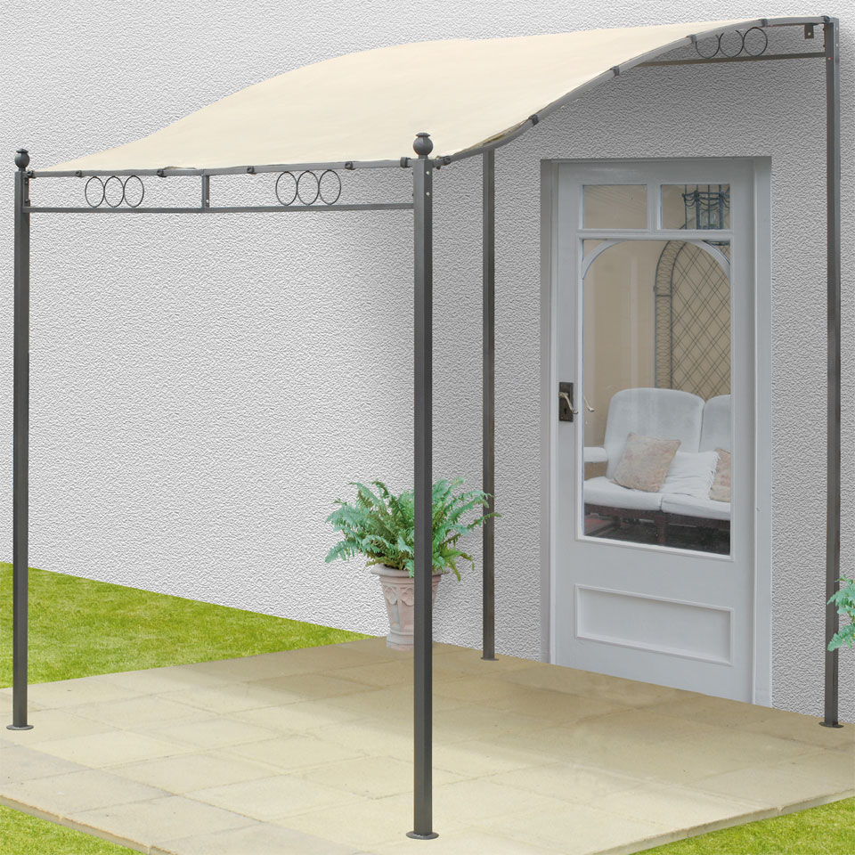 Replacement Ecru Roof Canopy for Suntime Steel Wall Gazebo 2.5m x 2.5m