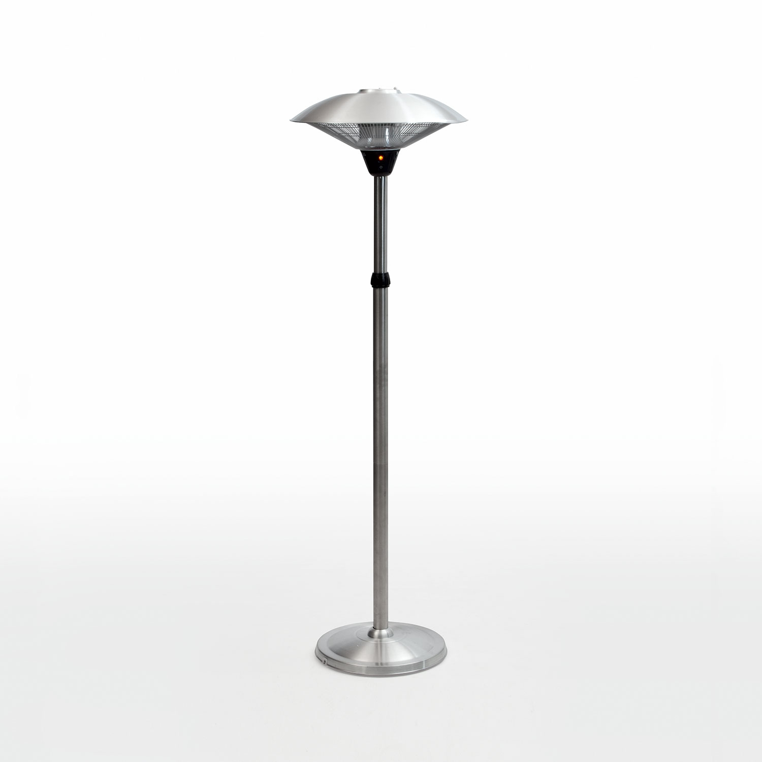 Image of 2.1m Stainless Steel Double Halogen Patio Heater