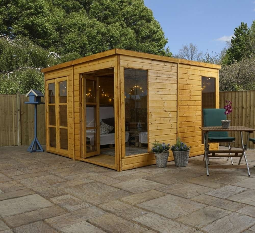 Image of 10' x 10' Premium Pool House Garden Room