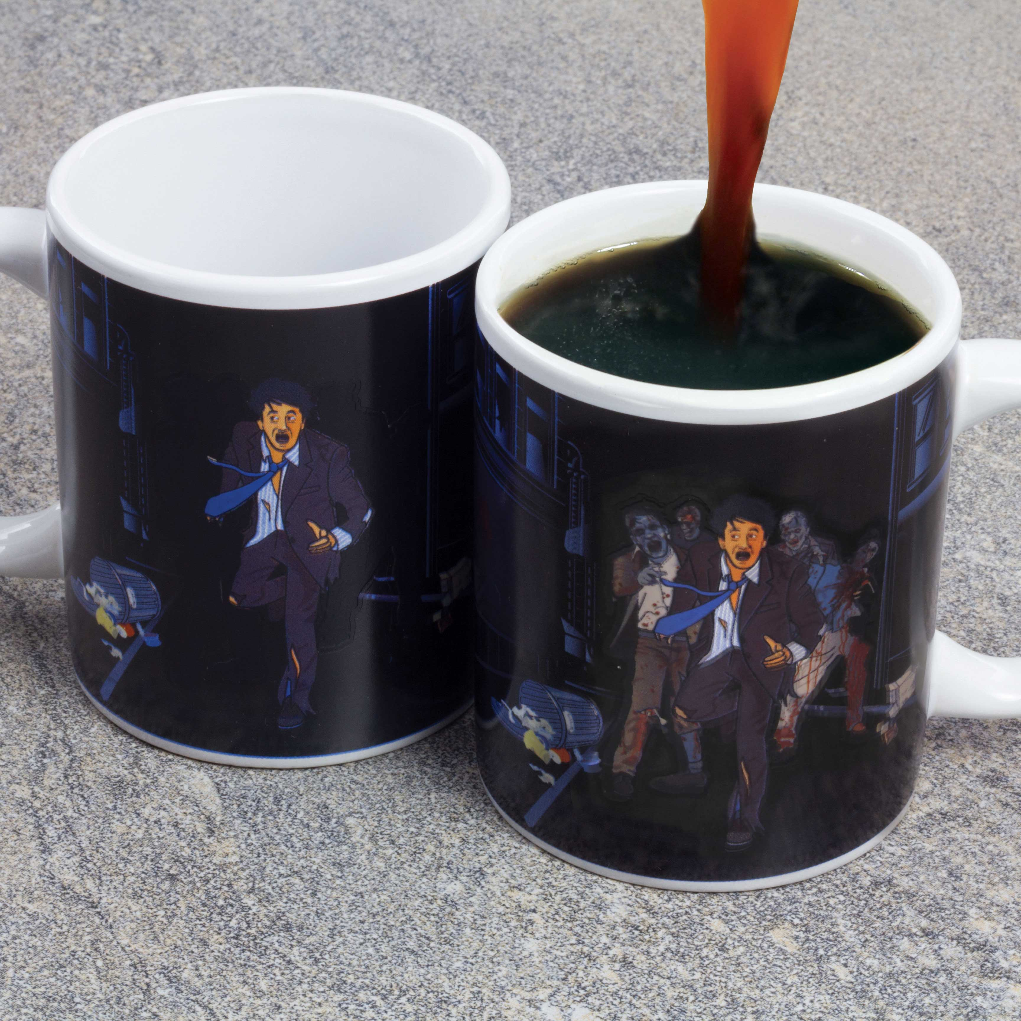 Zombie Apocalypse Heat Changing Mug