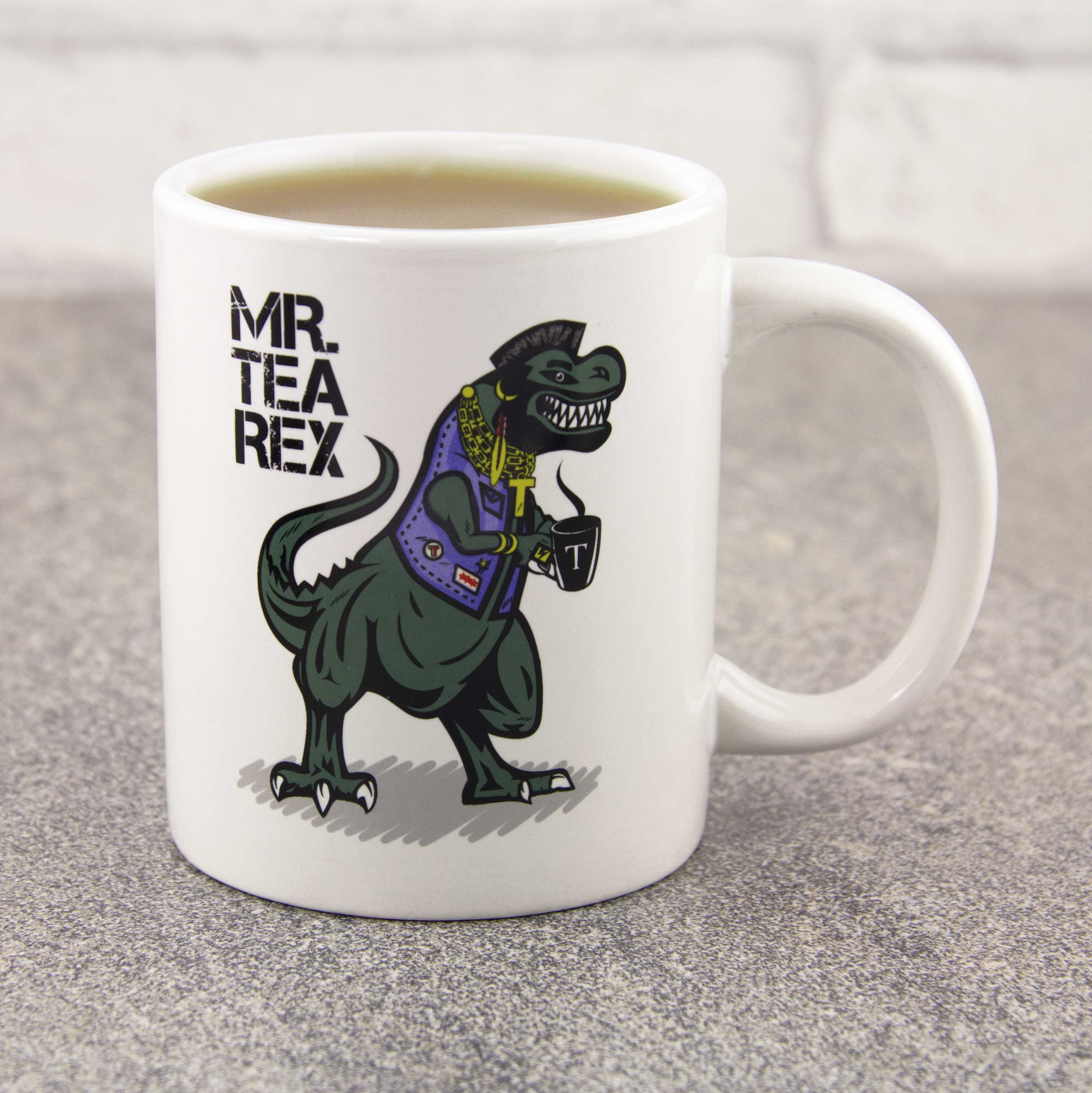 Mr Tea Rex Coffee Mug