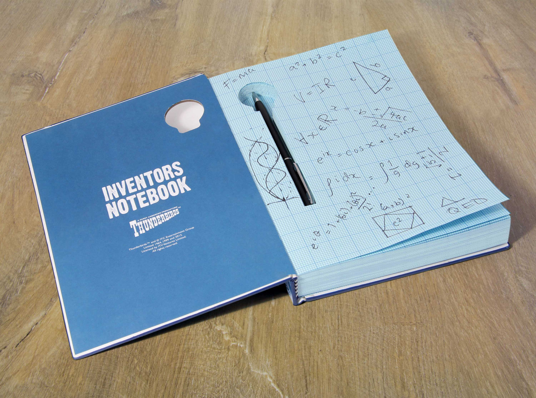 Thunderbirds Inventor's Notebook