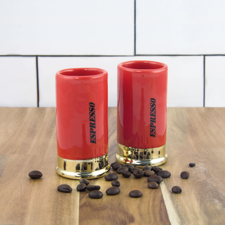 Shotgun Shell Espresso Mugs