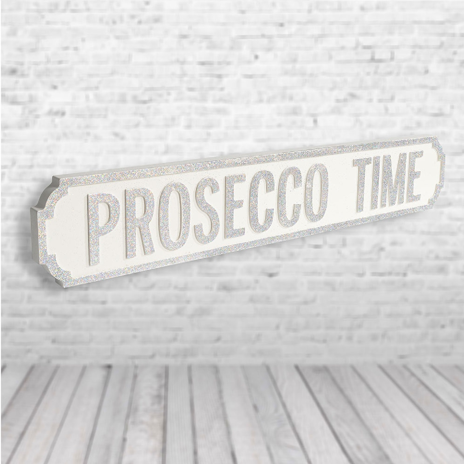 Image of Prosecco Time Road Sign