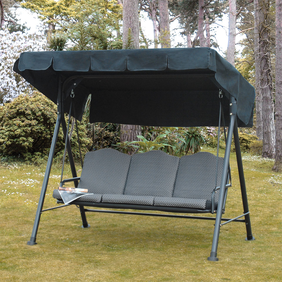 Rhodes Cushioned 3 Seat Swing