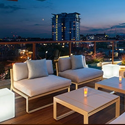 SevenCourse Tapas and Cocktails for Two at H10 Waterloo Sky Bar