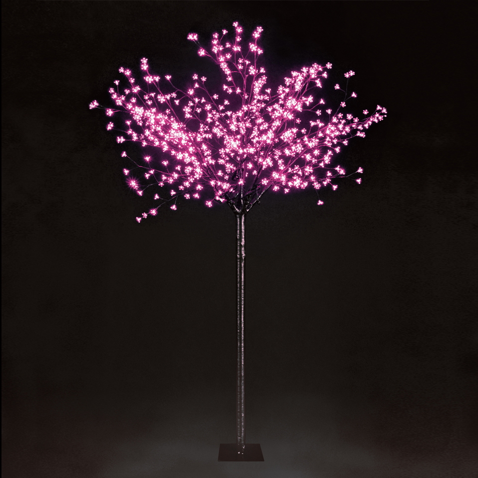 7ft 2in Cherry Blossom Tree - 600 Pink LEDs