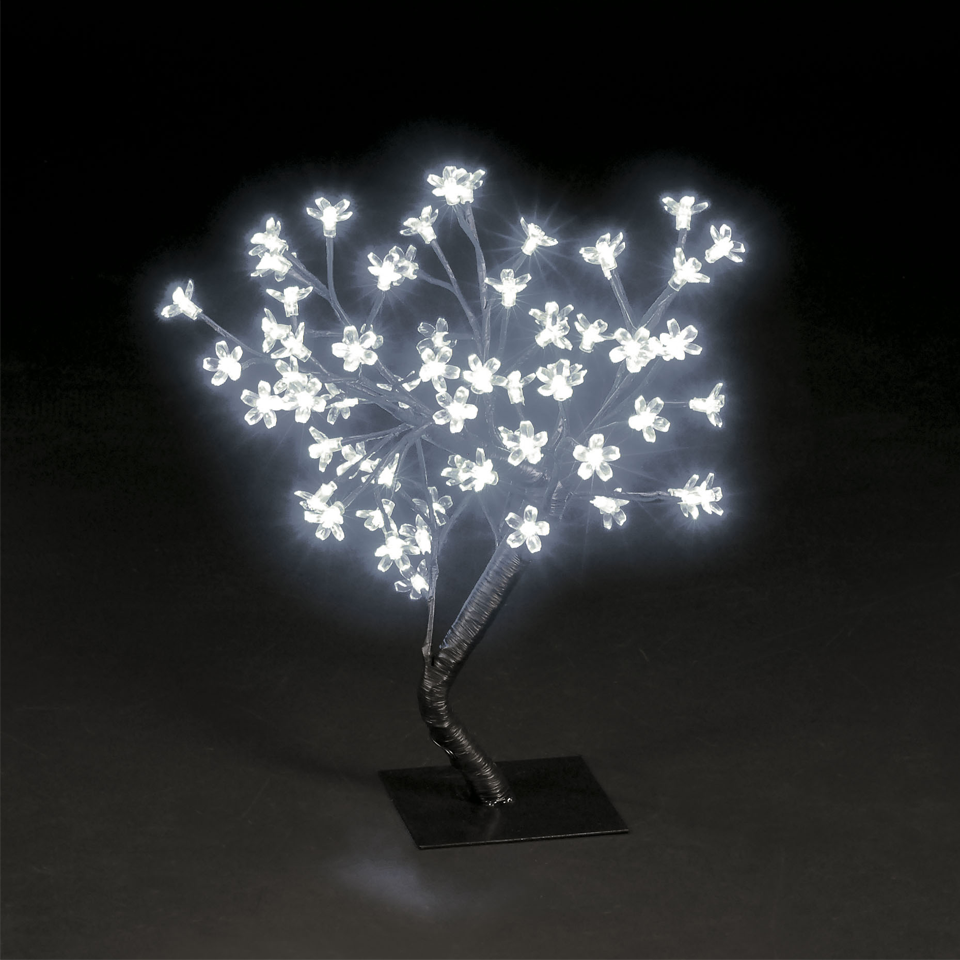 18in/45cm Cherry Blossom Tree with 40 Ice White LEDs