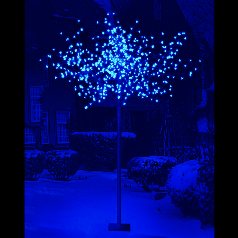 2.2m/7ft Cherry Blossom Tree with 400 Blue LEDs