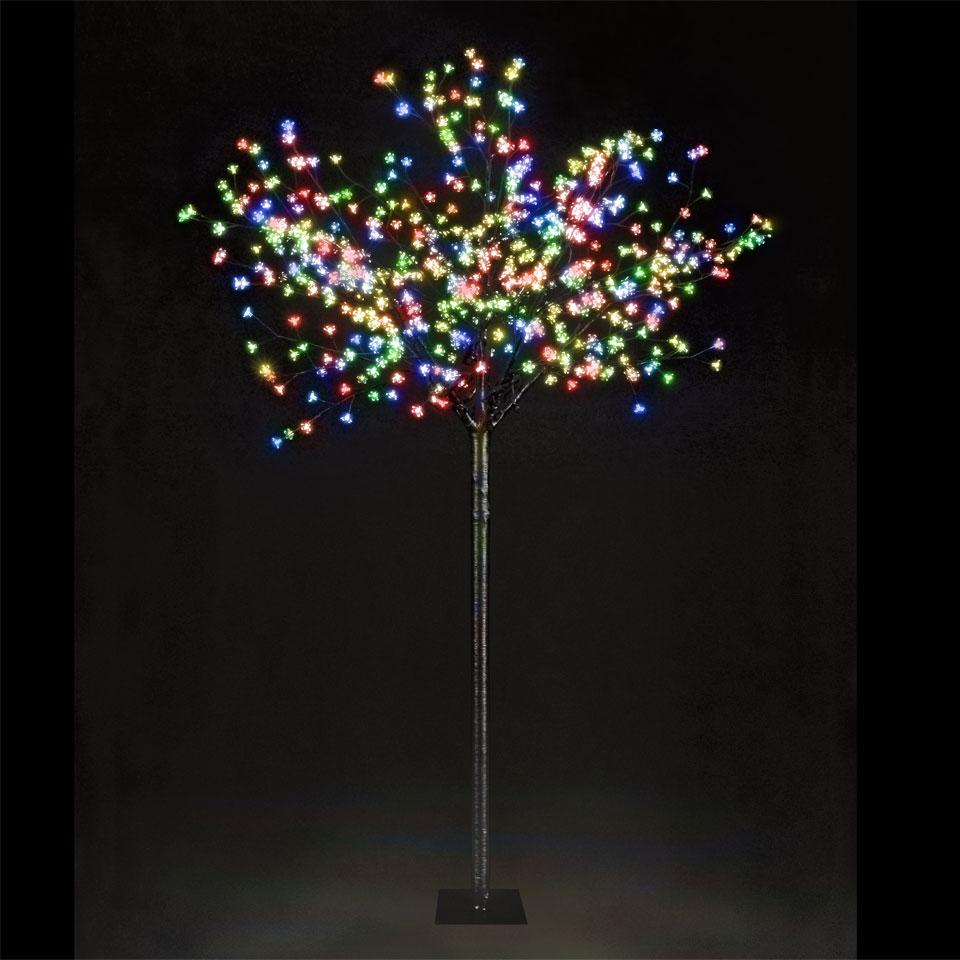 7ft Multi-Function Cherry Blossom Tree - 600 Multi-Coloured LEDs