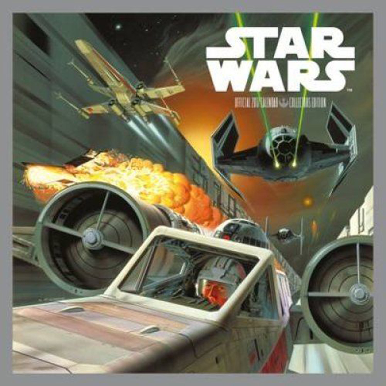 Star Wars 2017 Wall Calendar