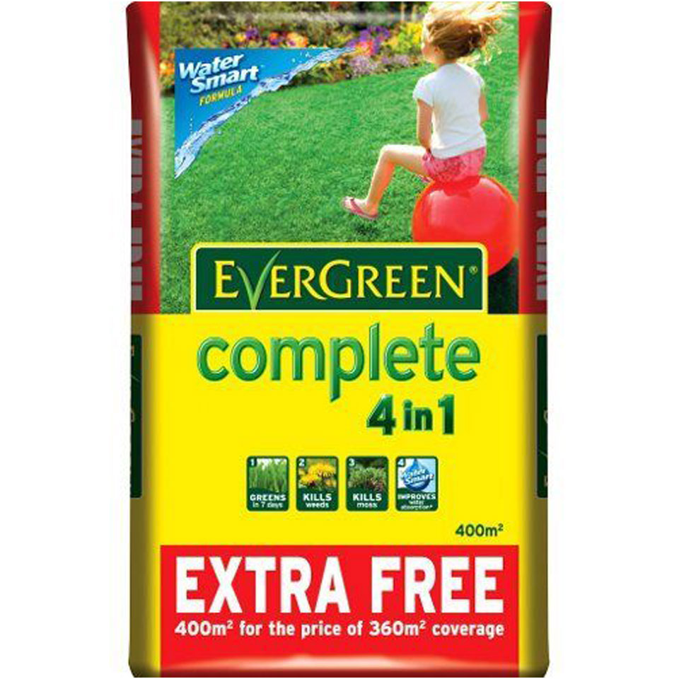 Scotts Evergreen Complete Watersmart 4 in 1 Weed & Feed