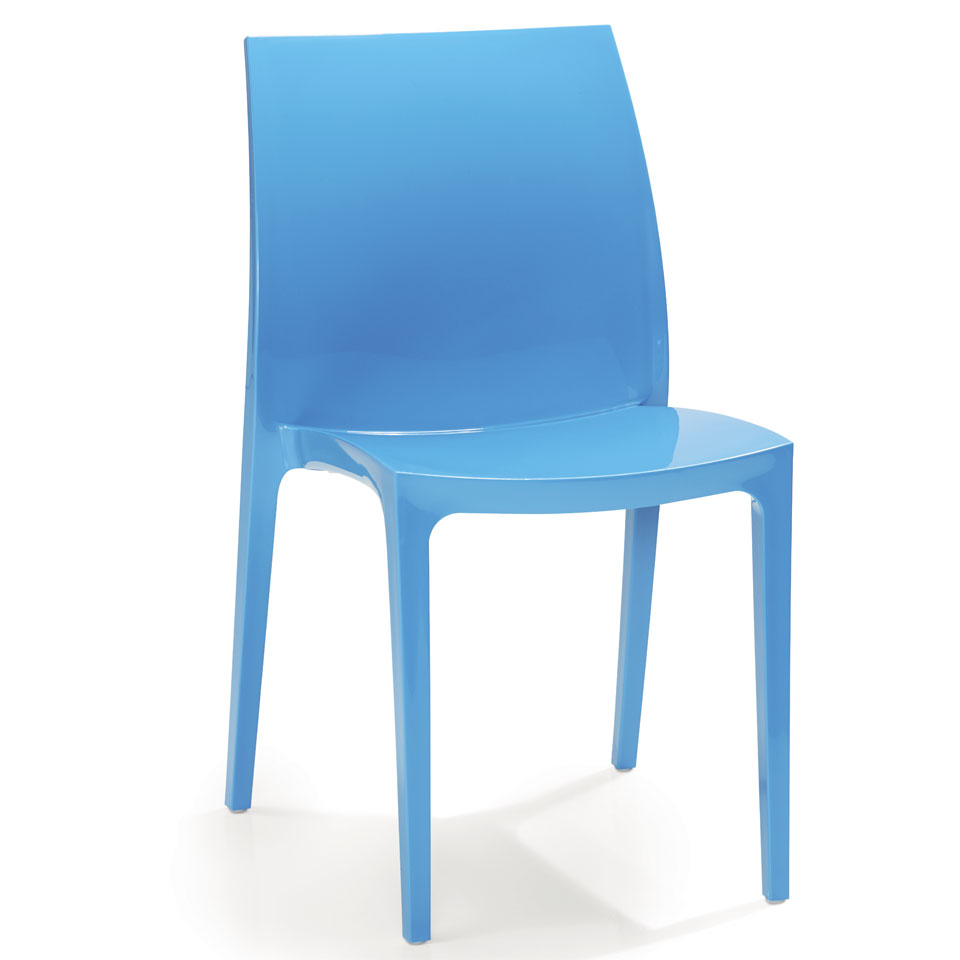Pair of Allibert Sento Blue Dining Chairs