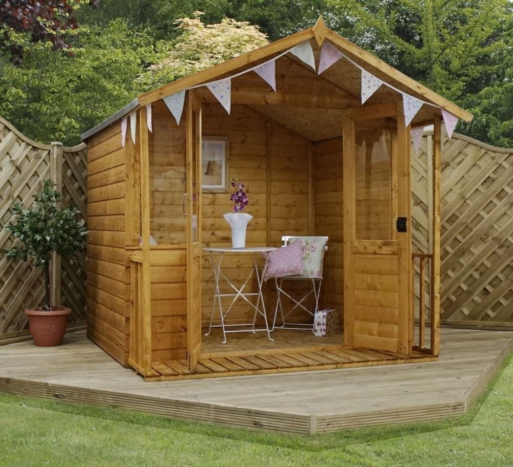 Image of 7' x 7' Traditional Summerhouse