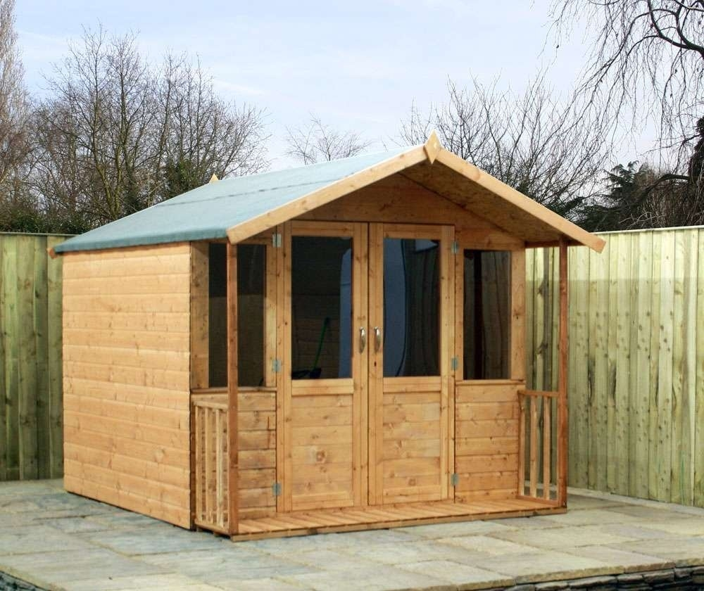 Image of 7' x 8' Traditional Summerhouse