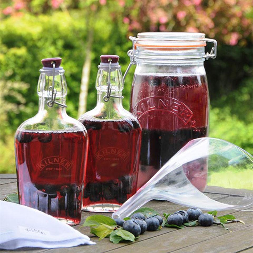 Kilner Sloe Gin & Fruit Liqueur Gift Set