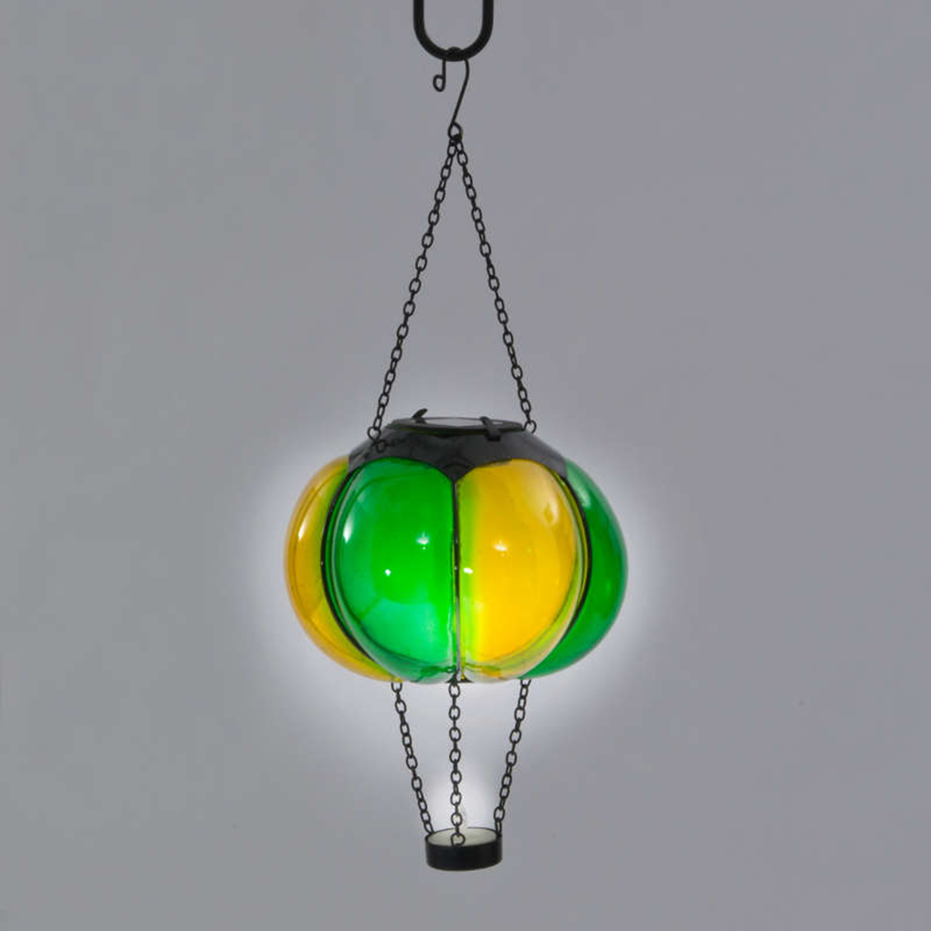 Gardens and Homes Direct Solar Balloon Light - Green & Yellow