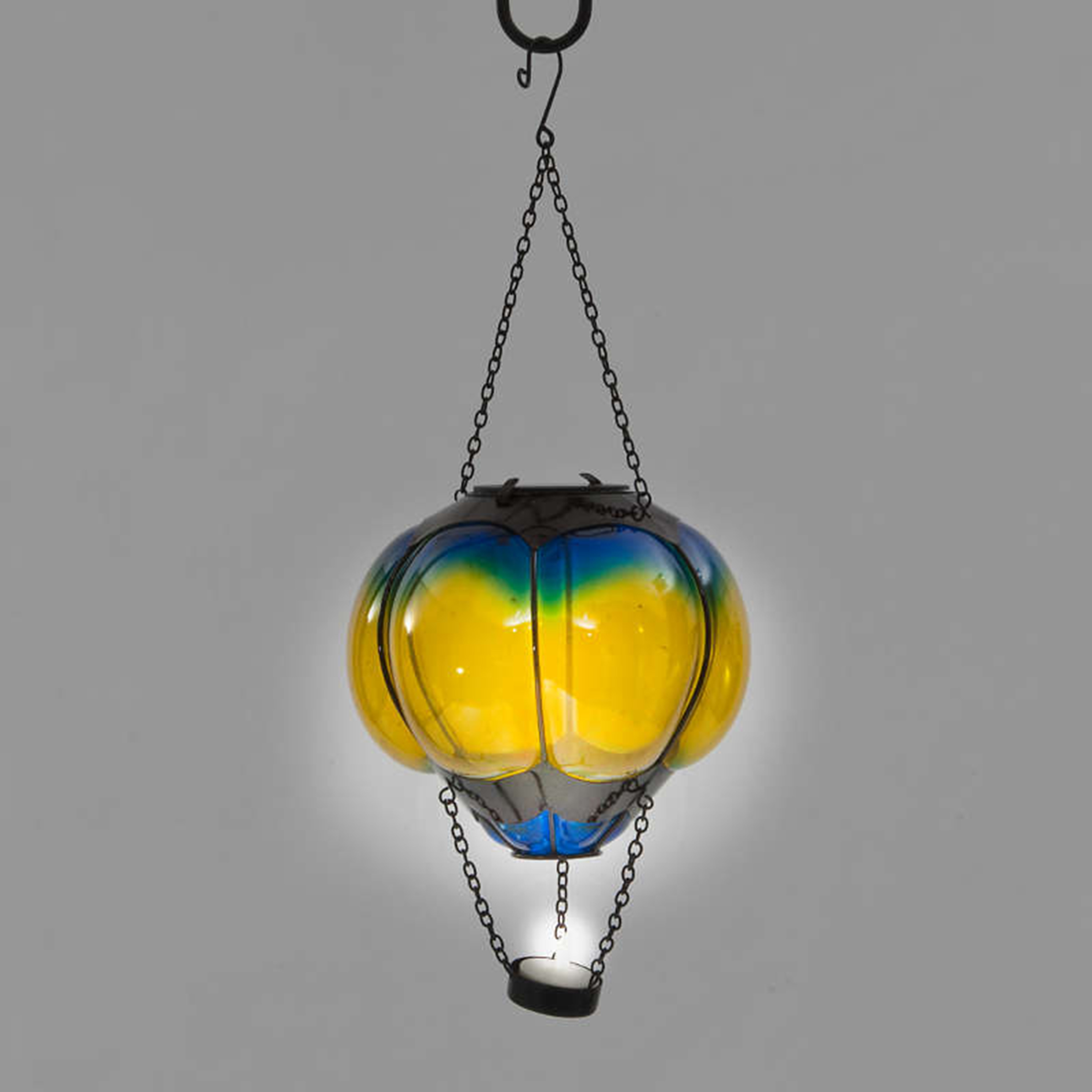 Gardens and Homes Direct Solar Balloon - Blue & Yellow