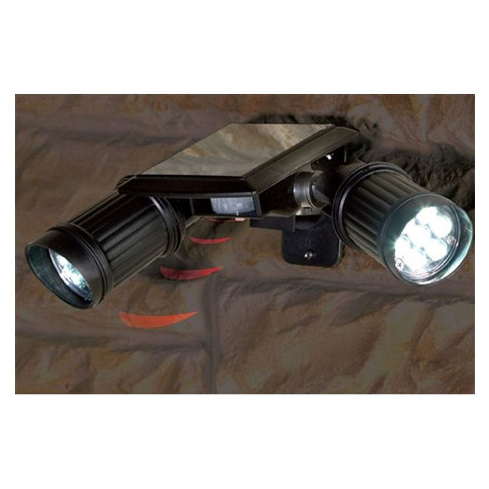 Twin Beam Solar Security Light