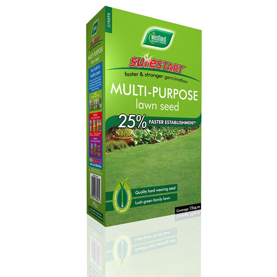 Westland Surestart Multi Purpose Lawn Seed 40 sq m.