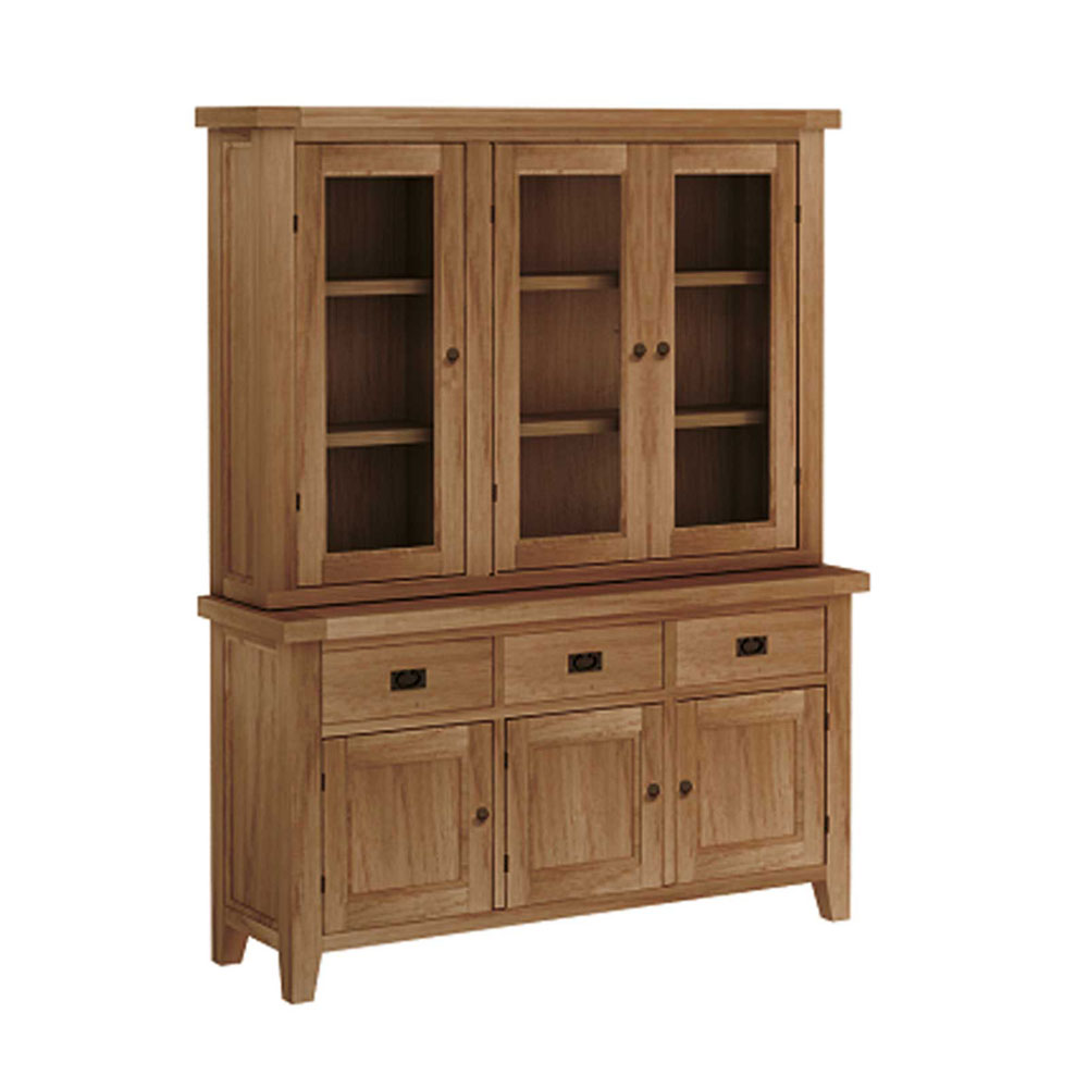 Tavistock Three Door Buffet Hutch Cabinet