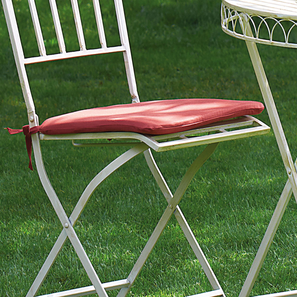 Terracotta Seat Pads (Pack of Two) for Versailles Bistro Sets