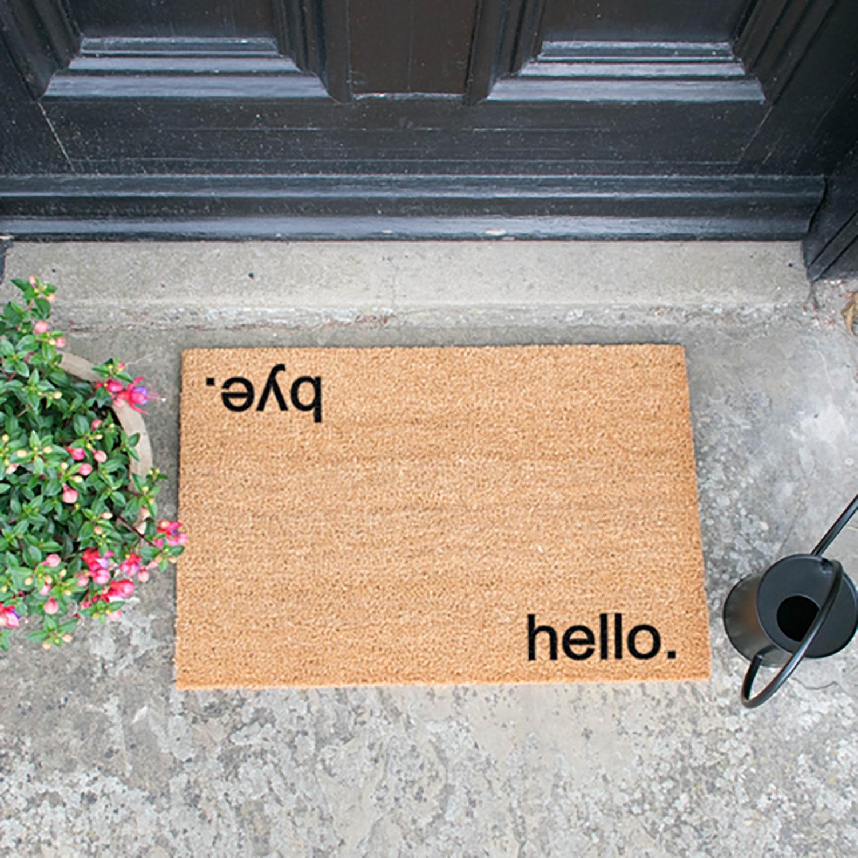 Image of Hello, Bye Door Mat