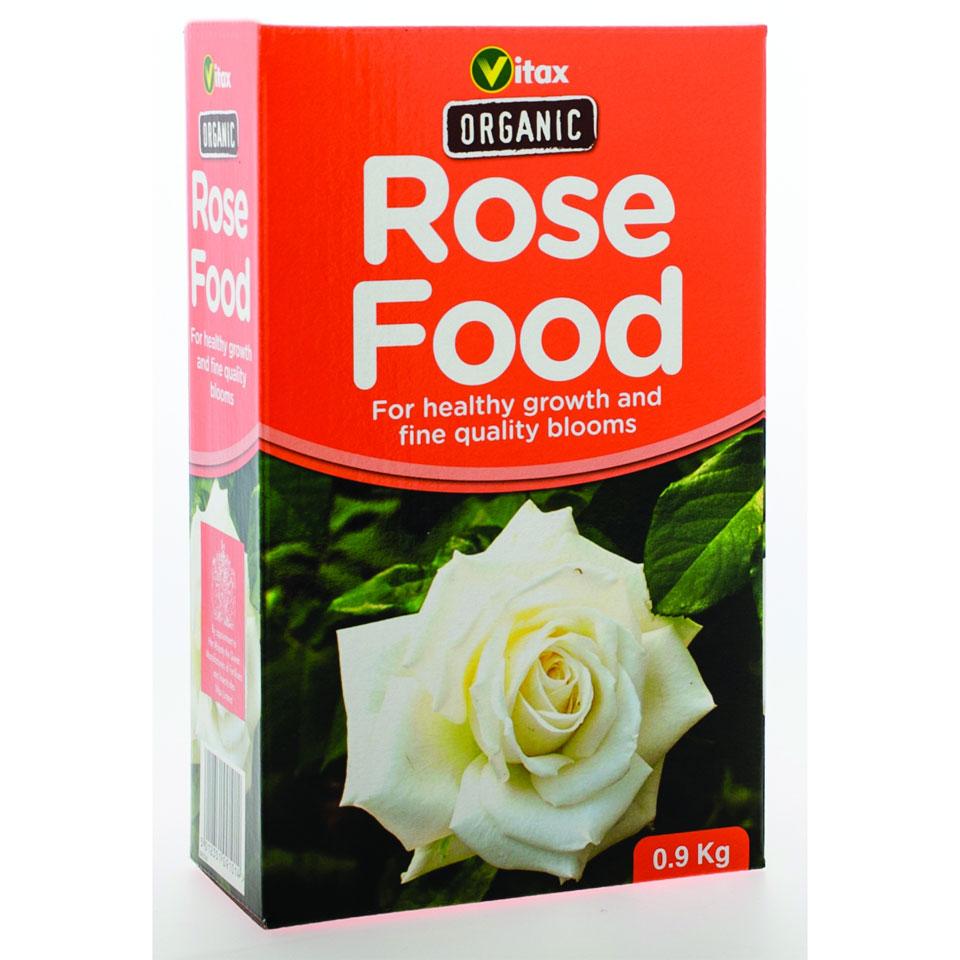 Vitax 100% Organic Rose Food 900g