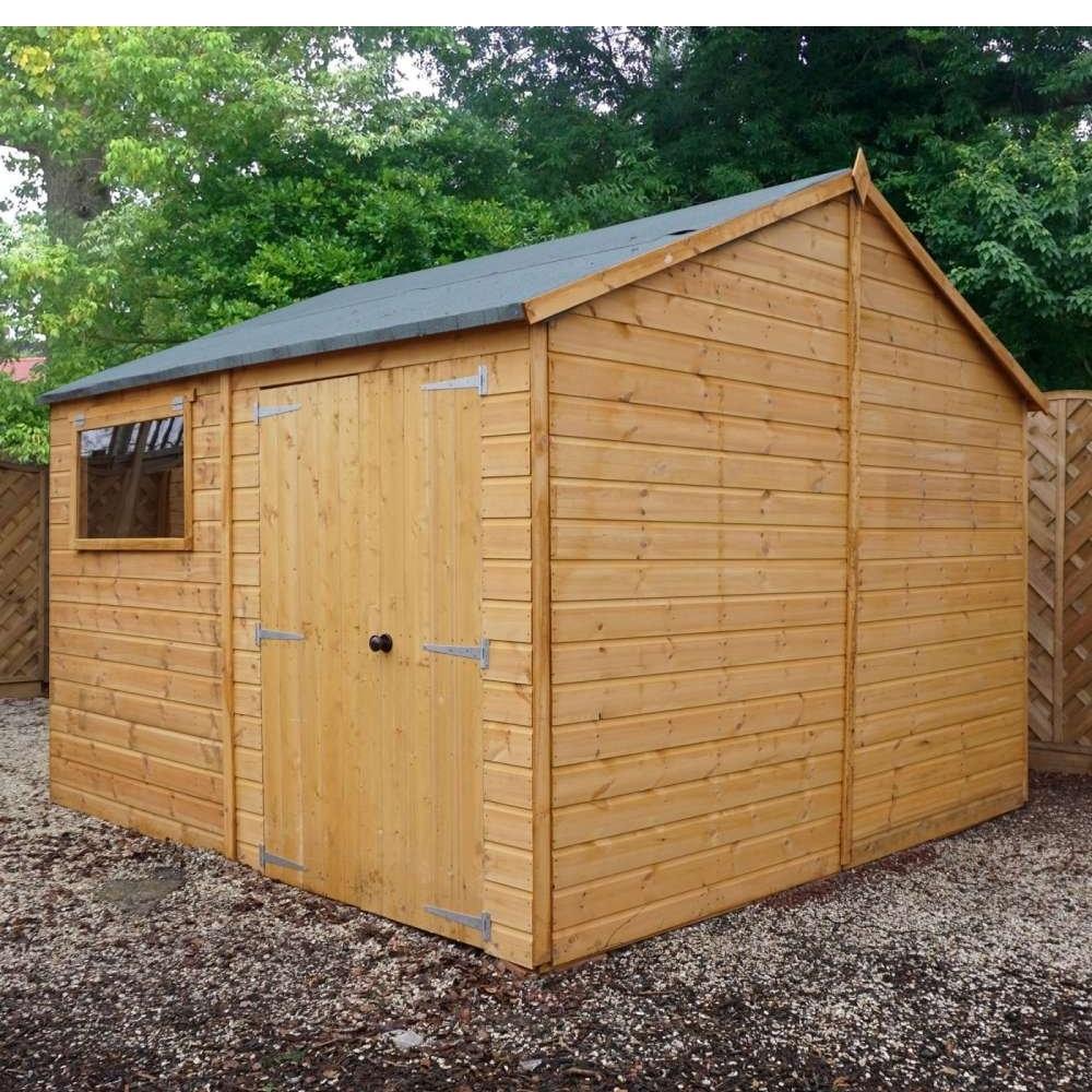 Gardens and Homes Direct 16' x 10' Premium Reverse Apex Shiplap T&G Workshop